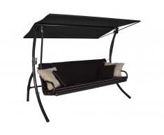 Elegance Style Hollywoodschaukel (3-Sitzer) Design Style lila