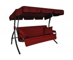 Trend Joy Hollywoodschaukel (3-Sitzer) Design Joy bordeaux