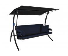 Elegance Joy Hollywoodschaukel (3-Sitzer) Design Joy marineblau