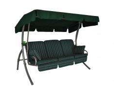 Comfort Hollywoodschaukel (3-Sitzer) Design Faro grün