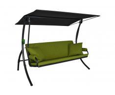 Elegance Joy Hollywoodschaukel (3-Sitzer) Design Joy apfelgrün