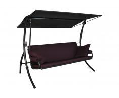 Elegance Joy Hollywoodschaukel (3-Sitzer) Design Joy lila