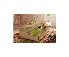 HOME AFFAIRE Home affaire, Truhen-Couchtisch natur rechteckig Tisch mit aufklappbarem Deckel