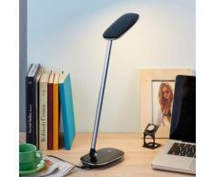Schwarze LED-Schreibtischleuchte Verena