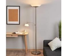 Raiko - LED-Deckenfluter mit Leselampe, dimmbar