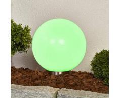 Friederika - RGB-Solarleuchte in Kugelform, 30 cm