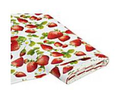 Abwaschbare Tischwäsche - Wachstuch Erdbeere