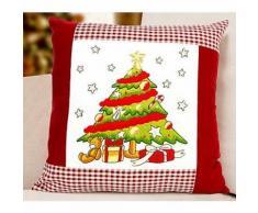 Stickkissen Weihnachtsbaum
