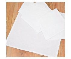 Stoffservietten, weiß, 45 x 45 cm, 4 Stück