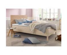Breckle Boxspring-Bett, beige, 120/200 cm, Härtegrad 2