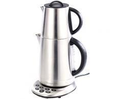 2in1-Edelstahl-Wasserkocher WSK-250.set & Teekanne