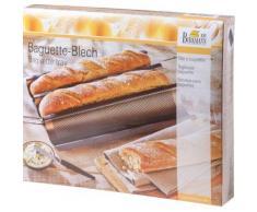 Baguette Backblech grau