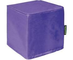 Sitzwürfel Alea, Oxford, purple lila
