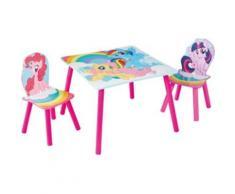 Kindersitzgruppe 3-tlg., My little Pony, mehrfarbig