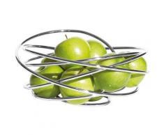 """""""Chrom Obstkorb """"Fruit Loop"""" Ø26 cm silber"""""""