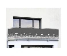 Sichtschutz Balkon und Terrasse 5 m anthrazit Erwachsene