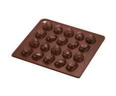 """""""Schokoladenform Ostereier """"Confiserie"""" mit 20 Motiven braun"""""""