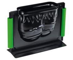 3D-Vollbackform Osterei, 700 ml schwarz
