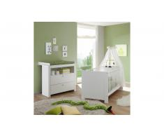 JUSTyou Olinda Kinderzimmer-Set Weiß