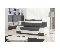 JUSTyou Area Sofa 95x200x73 cm Weiß Grau