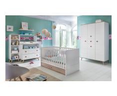 JUSTyou Estelle Kinderzimmer-Set Weiß
