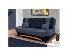 JUSTyou Eva II Sofa 100x200x95 cm Blau Blau II