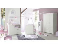 JUSTyou Soffia Kinderzimmer-Set mit Funktionsbett Weiß