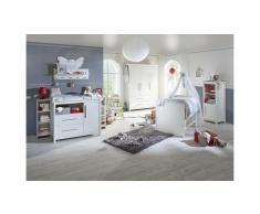 JUSTyou Ebbe Kinderzimmer-Set mit Funktionsbett Weiß