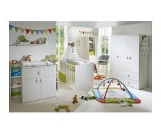 JUSTyou Alvar Kinderzimmer-Set mit Funktionsbett Weiß