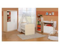 JUSTyou Noak Kinderzimmer-Set mit Funktionsbett Weiß