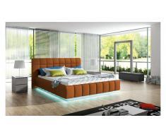 JUSTyou PRATO Polsterbett 210x226x105 cm Orange