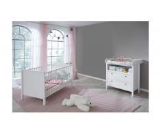 JUSTyou Fauro Kinderzimmer-Set Weiß