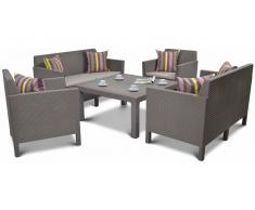 JUSTyou Saint Vincent Family Essgruppe Cappuccino Sand
