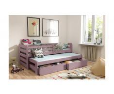 JUSTyou Kobi Funktionsbett Violett 90x188 cm