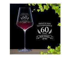 Monsterzeug - Weinglas zum 60. Geburtstag