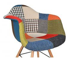Patchwork sessel g nstige patchwork sessel bei livingo for Sessel 50iger jahre