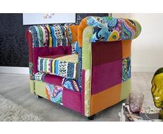 Einzelsessel bunt  Patchwork Sessel » günstige Patchwork Sessel bei Livingo kaufen