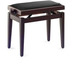 Klavierbank KB-20 RM Rosenholz matt mit Sitzfläche