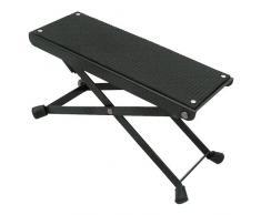 MSA FS 5 Fußstuhl aus Metall mit rutschfester Gummiauflage (3-fach verstellbar) schräge Fußauflage