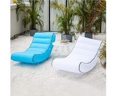 ARIESDY Airchair Air Chair Luftsessel Aufblassessel Luftm?Bel Camping Reisen Pool Meer inklusive Transportrucksack waschbar stylisch