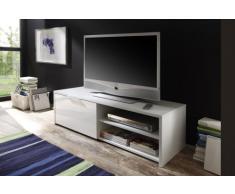 LC spa 209025-01 TV Schrank Sorrento, 122 x 38 x 42 cm, weiß/hochglanz