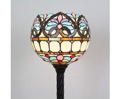 12 Zoll Floral Barock Globe Stehleuchte Atmospheric Minimalist Home Sofa Tisch Wohnzimmer Schlafzimmer Studie Stehlampe