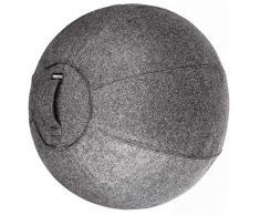 bintiva Stabilität Ball Chair für Office - Ergonomisches sitzen/Arbeit Gebären Schwangerschaft/Yoga Balance Stabilität Übung Fitness, Dark Gray Overlay, 65cm
