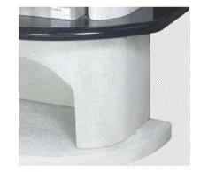 Buschbeck 90007.000 Grillkamin Ambiente 54 x 34 cm, weiß-granit