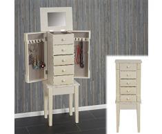 g nstiger schmuckschrank bei livingo jetzt sichern. Black Bedroom Furniture Sets. Home Design Ideas