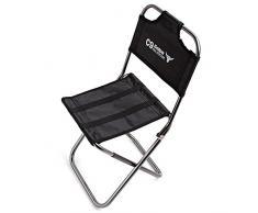 Paramount City ParaCity Klapp-Campinghocker aus leichtem Aluminium, Mini-Stuhl, tragbarer Outdoor-Hocker für Angeln, Wandern, Camping, Picknick, Reisen, Folding Chair