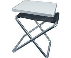 2in1 Camping Hocker-oder-Tisch Kombination von Camp 4 Tortuga (Einheitsgröße) (Grau )