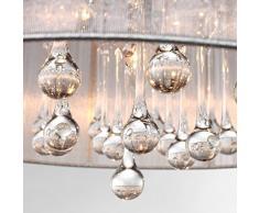 LightInTheBox® Moderne Kristall Pendelleuchte In Zylinder Shade,  Trommel Art Haus Leuchte