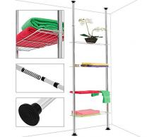 teleskopregal g nstige teleskopregale bei livingo kaufen. Black Bedroom Furniture Sets. Home Design Ideas