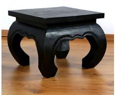 Asiatischer Opiumtisch, Beistelltisch aus Massivholz der Marke Asia Wohnstudio, asiatischer Couchtisch, Nachttisch, Massivholz Möbel, (30cm)
